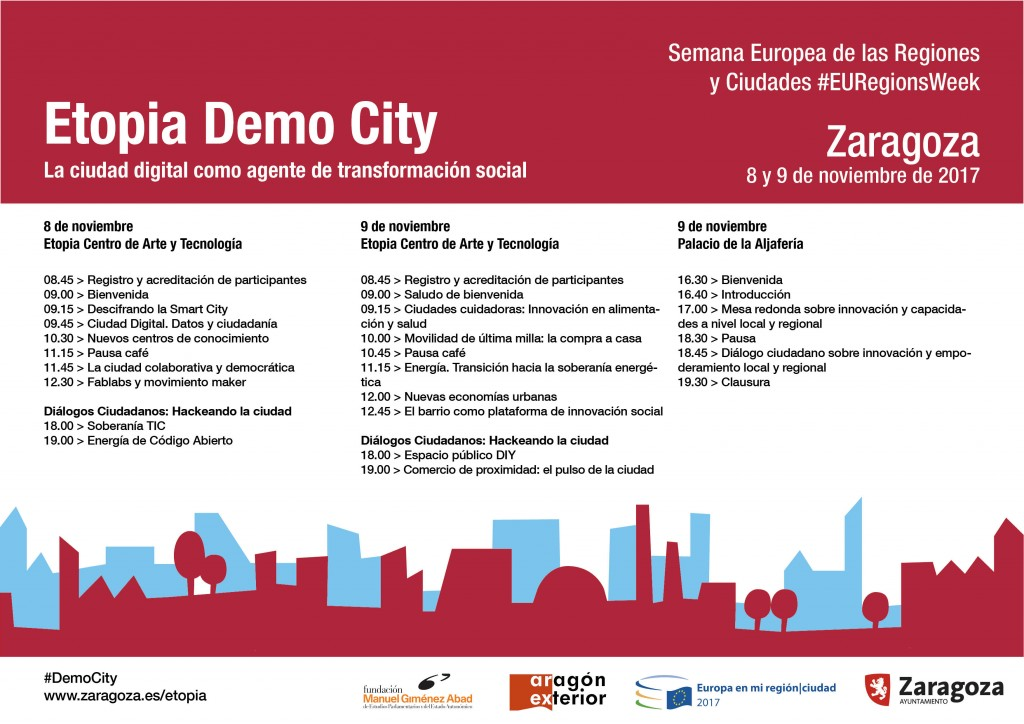 Horario Etopia Demo City